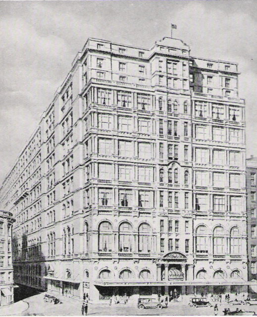The hotel in 1932.