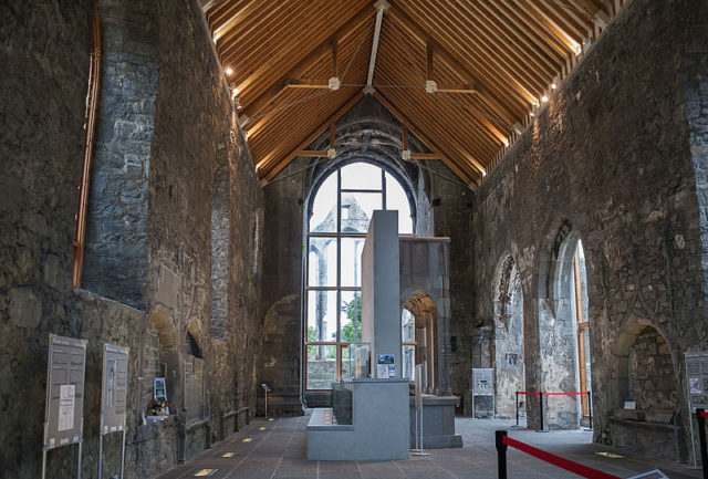 The nave's new roof. Author:Andreas F. Borchert –CC BY-SA 4.0