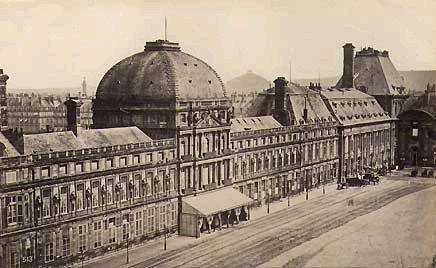 Tuileries Palace before the 1871 fire.