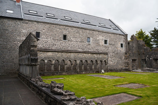 View of the cloister. Author: Andreas F. Borchert – CC BY-SA 4.0