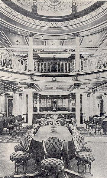 The 1st class dining room.