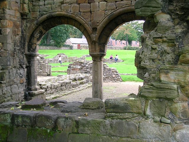 Remains of the chapter house