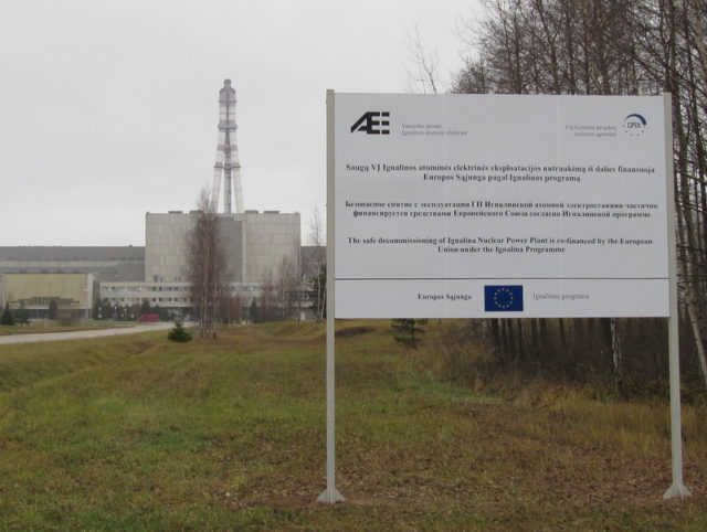 A notice board about the decommissioning project. Author:Martijn Munneke –CC BY 2.0