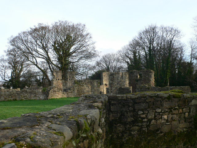 The abbey is part of the Greenfield Valley Heritage Park/ Author: Eirian Evans – CC BY-SA 2.0