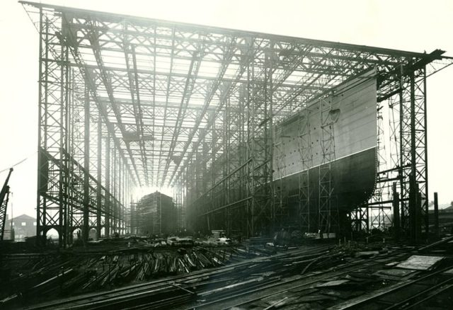 During construction.