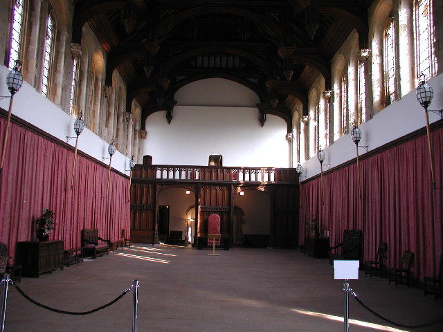 Part of the Great Hall. Author: David Hatch – CC BY-SA 2.0