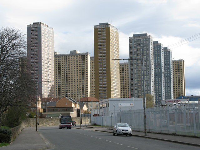 The buildings in 2009. Author: G Laird – CC BY-SA 2.0