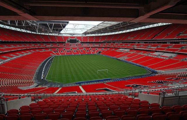 The new Wembley Stadium. Author:Jbmg40 –CC BY-SA 3.0
