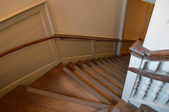Silver Stick Staircase. Author:Matt Brown –CC BY 2.0