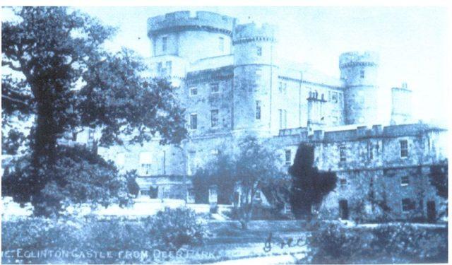 The castle circa the 1900s.