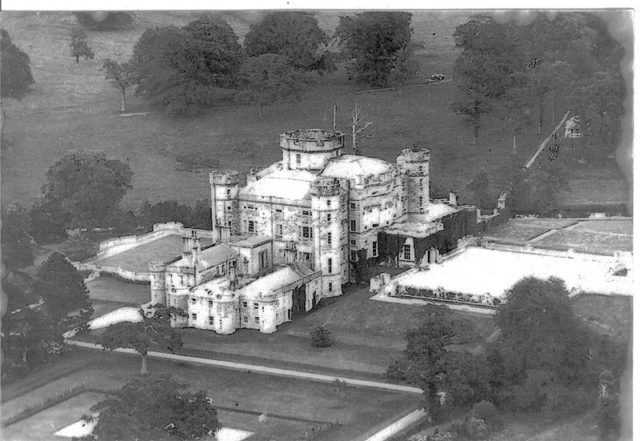 The castle in 1920.