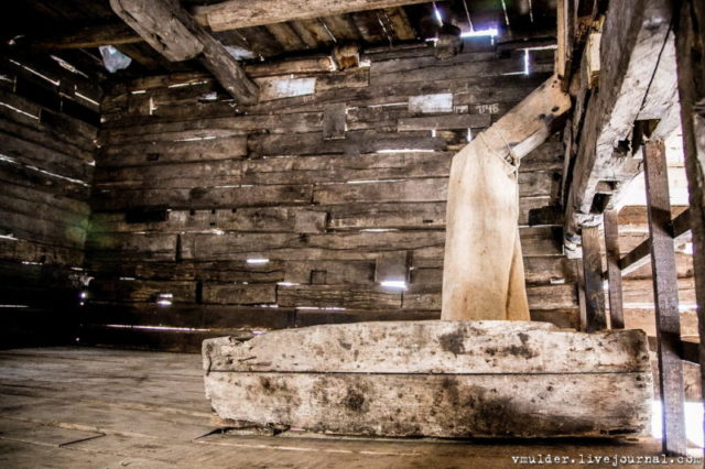 This is where the flour was collected © Vladimir Mulder