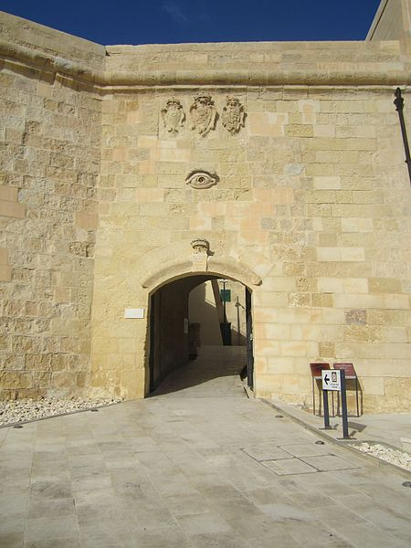 A doorway that played a crucial part during the 1565 siege. Author:Yaco Erisso –CC BY-SA 4.0