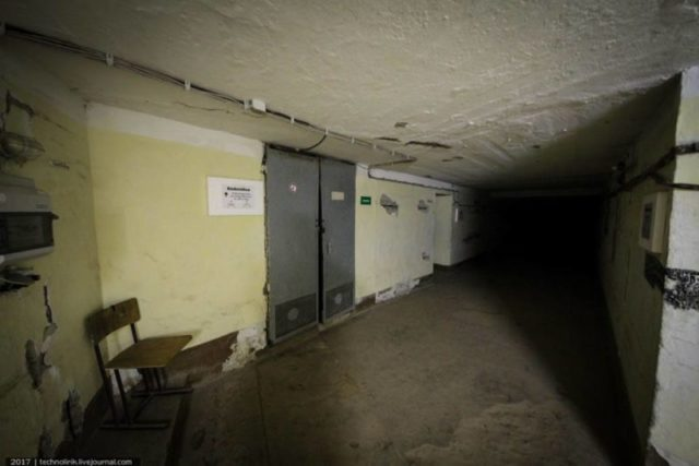 Doors leading to the now destroyed underground gallery to Maybach I ©technolirik