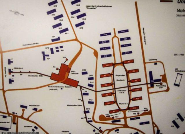 Photo of plan of Zeppelin and Maybach I ©technolirik