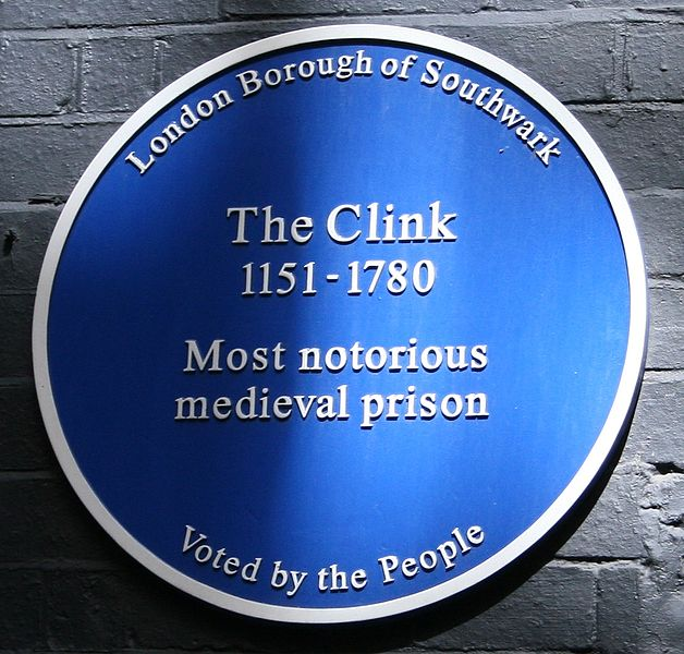 Blue Plaque historical marker at the site of the prison. Author:J.P.Lon –CC BY-SA 2.5