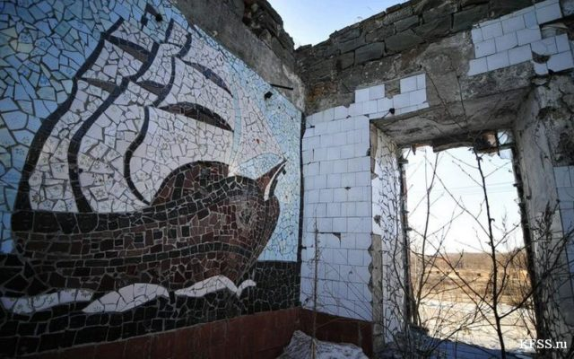 Mosaics were a common form of decoration in the USSR ©KFSS