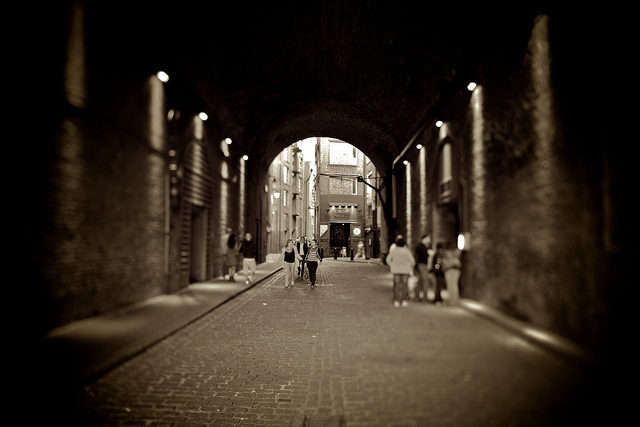 The tunnel leading to the museum. Author:Aurelien Guichard –CC BY-SA 2.0