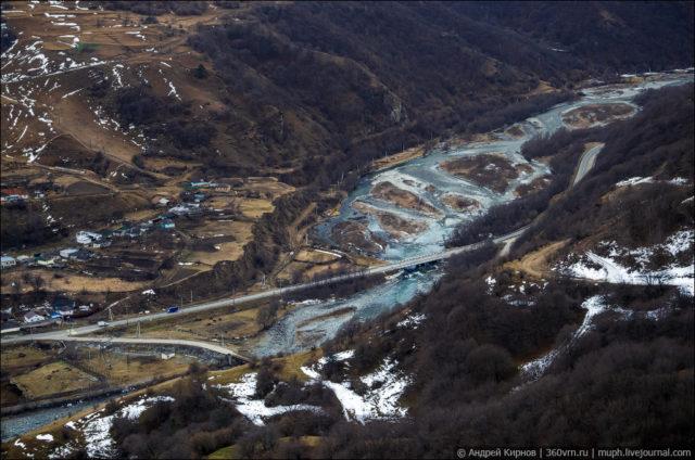 View of Teberda river ©Andrey Kirnov
