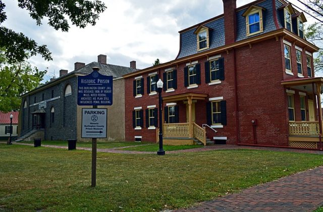 Burlington County Prison today. Author:Susan Spitz –CC BY-SA 4.0