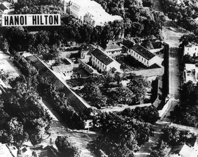 General view of the prison. Author:United States Air Force