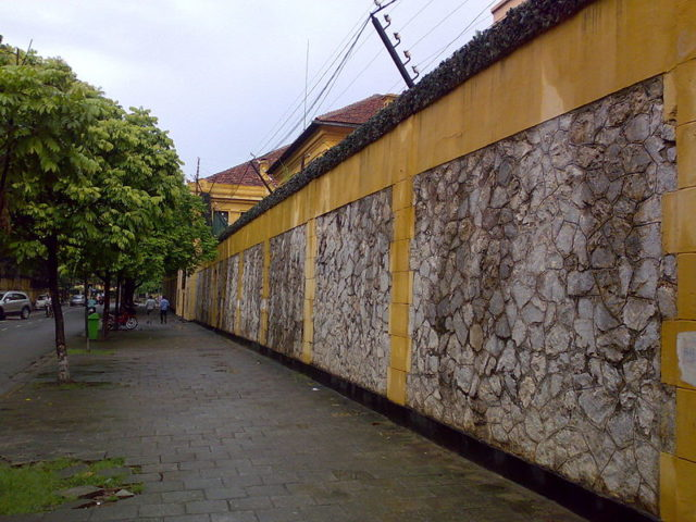 Part of the prison walls. Author:Newone