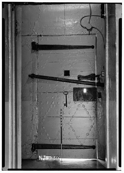 The main door from the inside. Author:Library of Congress