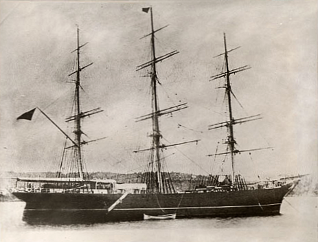 The ship in 1868.