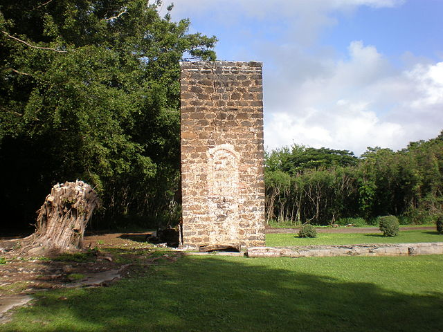 The brick chimney of the Old Sugar Mill of Kōloa.