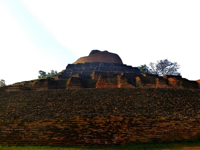 The structure is made of bricks/ Author: Anandajoti Bhikkhu – CC BY 2.0