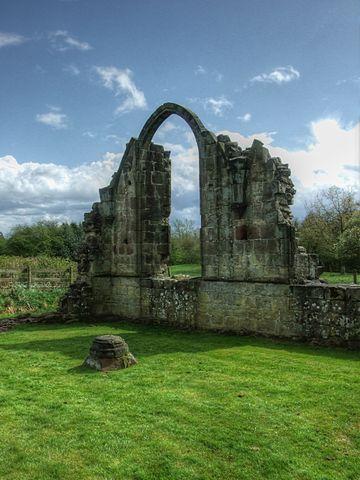 The abbey was founded by Bertram de Verdun, Lord of Alton/ Author: Alun Salt CC BY-SA 2.0