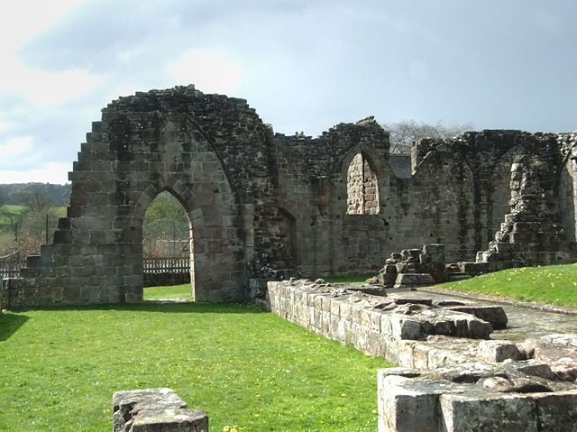 The abbey and its lands were converted into a farm after 1538/ Author: Alun Salt CC BY-SA 2.0