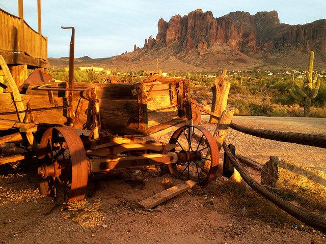 Long abandoned mining equipment. Author:Midnight Believer –Public Domain Mark 1.0