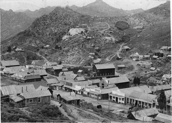 Silver City in 1892.