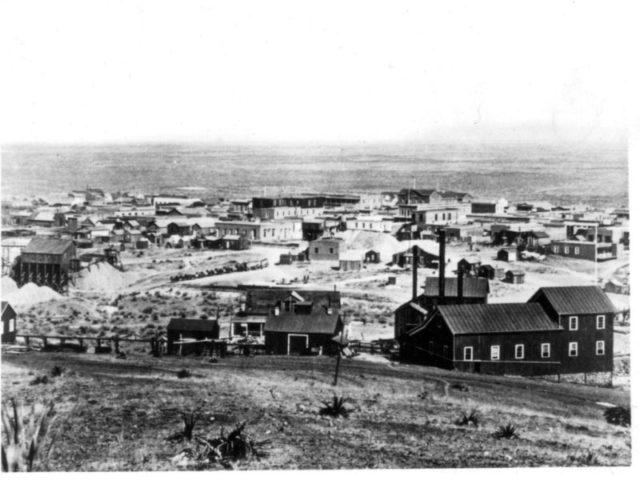 Tombstone. Author:C.S. Fly (1849–1901)