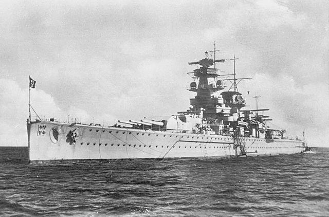 Admiral Graf Spee in 1936/ Author: Bundesarchiv – CC BY-SA 3.0 de