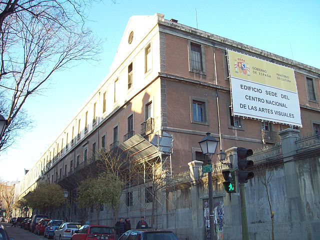 View, from the southwest corner, of the building under restoration (February 2009) – Author: Luis García – CC BY-SA 3.0