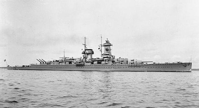 Admiral Graf Spee before the war