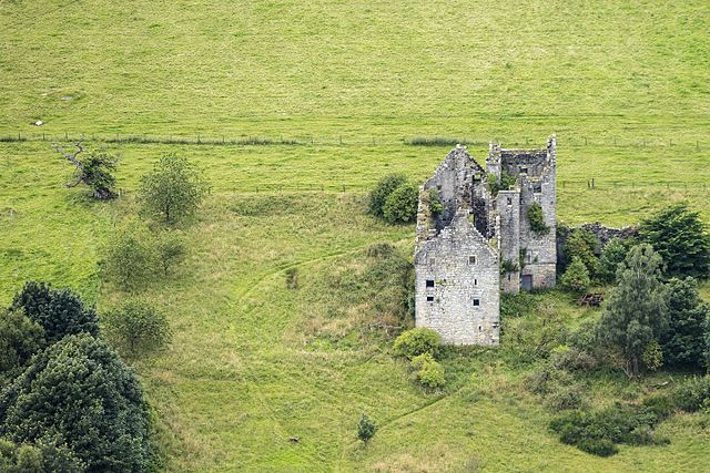 Aerial view of the ruins/ Author: Andrew Shiva/Wikipedia – CC BY-SA 4.0