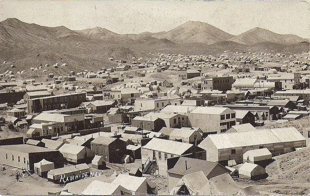 A panorama of the town, c. 1910. Author: Jason Woodhead – flickr – CC BY 2.0