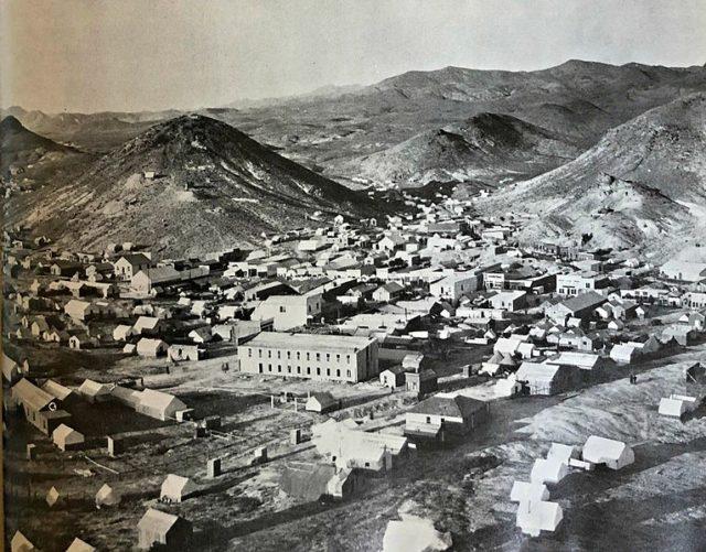 Rawhide, Nevada, 1908.