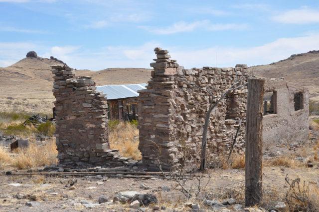 Lake Valley Historic Townsite in Hillsboro, New Mexico.