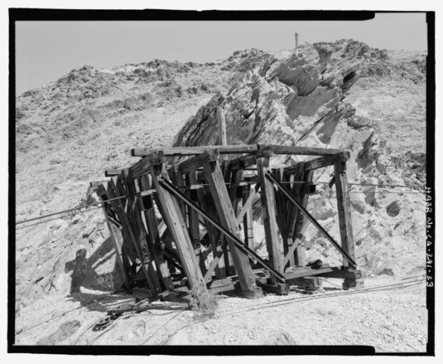 Mining equipment. Author: National Park Service