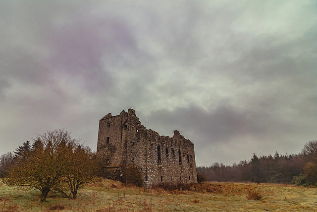 Torwood Castle, Falkirk, Scotland/ Author: Flikr user 4652 Paces – CC BY-ND 2.0