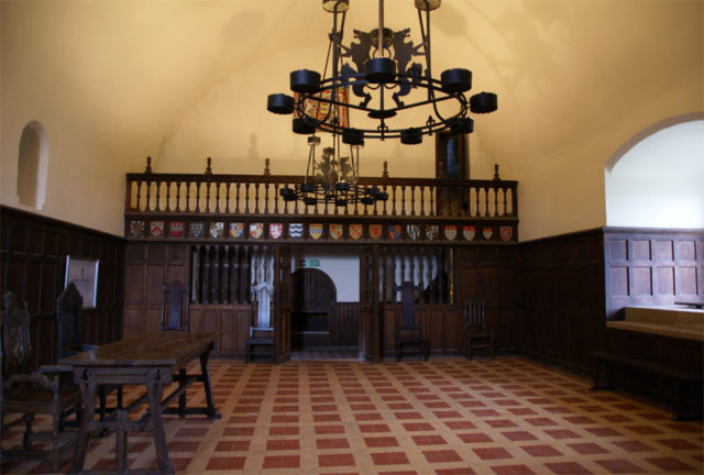 View of the Lord's Hall. Author:Otter –CC BY-SA 3.0