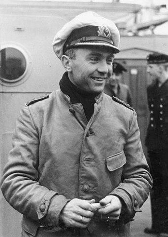 Günther Prien in 1940. Author: Bundesarchiv CC BY-SA 3.0 de