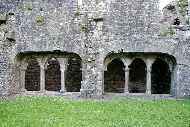 The abbey closed during the Dissolution of the Monasteries ordered by Henry VIII. Author: Sitomon CC BY-SA 2.0