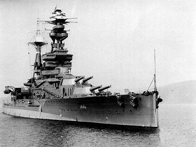 HMS Royal Oak at anchor in 1937