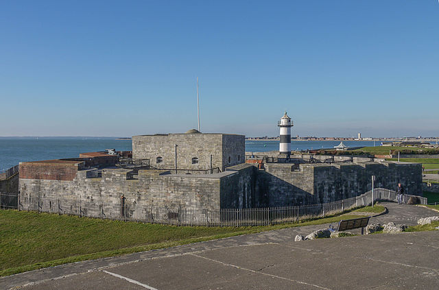 Southsea Castle. Author: Geni CC BY-SA 4.0