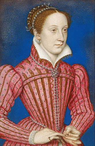Mary, Queen of Scots by François Clouet.